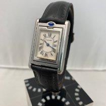 Cartier Tank (submodel) Stål 22mm Vit