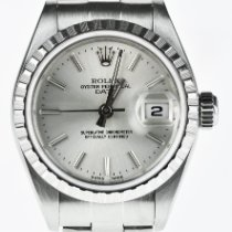 Rolex Oyster Perpetual Lady Date Steel 26mm Silver No numerals United Kingdom, London