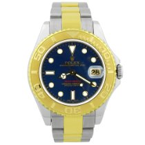 Rolex Yacht-Master Gold/Steel 35mm Blue No numerals United States of America, California, Fullerton