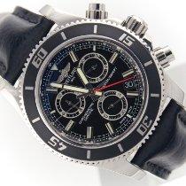 Breitling Superocean Chronograph M2000 Steel 46mm Black