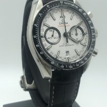 Omega Speedmaster Racing Acero 44mm Blanco Sin cifras