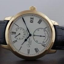 Glashütte Original Senator Chronometer Or rose 42mm Blanc