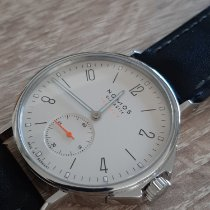 NOMOS Ahoi Neomatik Staal 36,3mm Champagne Arabisch