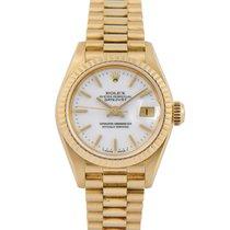 Rolex Datejust President Ladies 18k White 'Stella'...