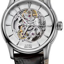 Oris Artelier Skeleton Steel 40mm Silver United States of America, New York, Airmont