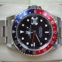 Rolex [near NOS] GMT-Master II NO HOLE - PEPSI - F - 2005