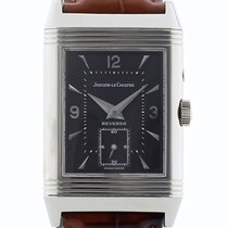 """Jaeger-LeCoultre Reverso Duo Face """"White Gold"""" ref...."""