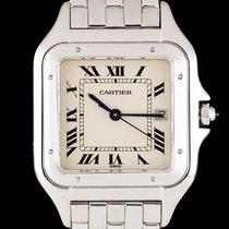 Cartier Panthère White gold 27mm Silver Roman numerals United Kingdom, London