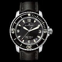 Blancpain 5015-1130-52A Steel Fifty Fathoms 45mm new