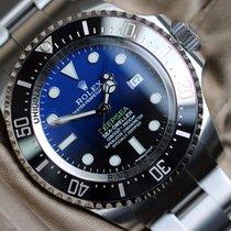 Rolex Sea-Dweller Deepsea 116660 D-Blue 2017 neu