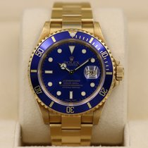 Rolex Submariner Date pre-owned 40mm Yellow gold