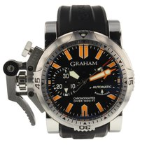 Graham Chronofighter Oversize Diver Steel 46mm Automatic Self...
