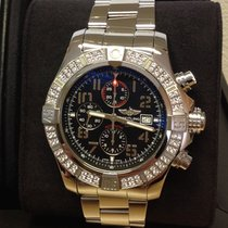 Breitling Super Avenger II Steel 48mm Black Arabic numerals United Kingdom, Wilmslow