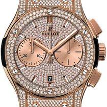 Hublot Classic Fusion Chronograph Rose gold UAE, Gold and Diamond Park Bulding #5 Dubai