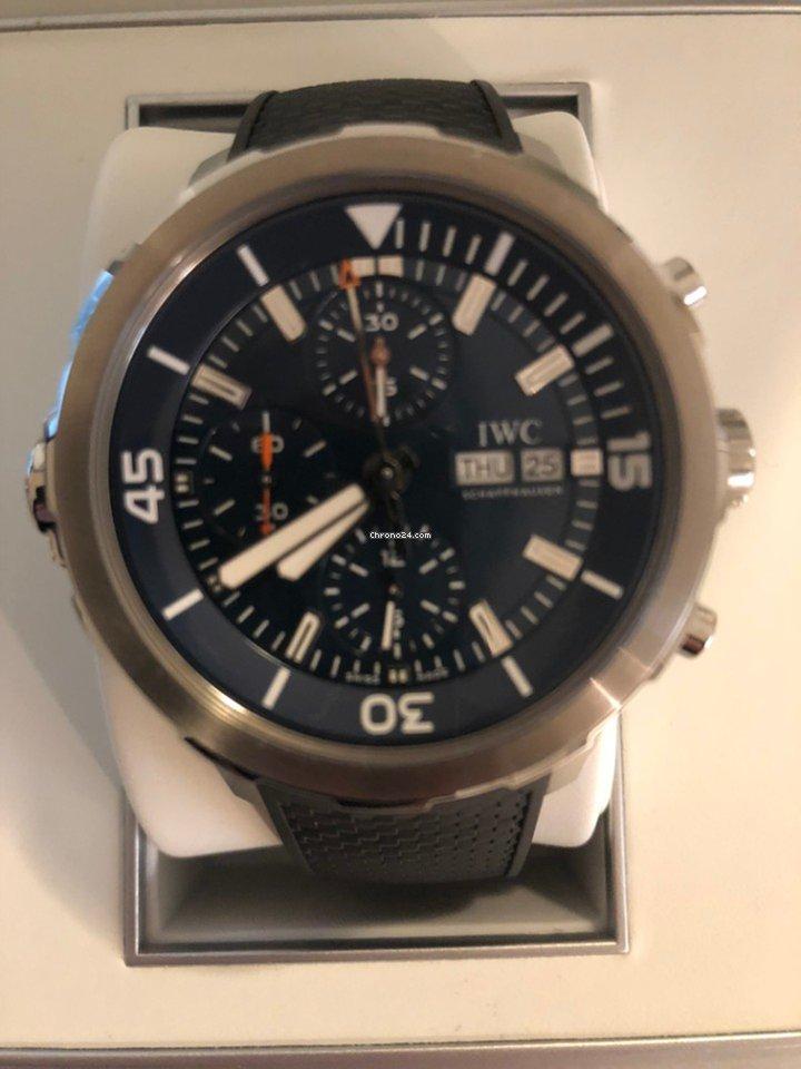 c8591367a2b IWC Aquatimer Chronograph Jacques Cousteau Edition por 4.890 € para vender  por um Vendedor particular na Chrono24