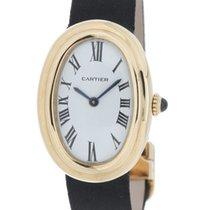Cartier Baignoire Or jaune 23mm Blanc Romain France, LYON