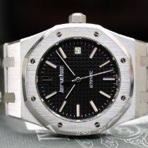 Audemars Piguet Royal Oak Automatic black dial never polished...
