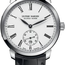 Ulysse Nardin Steel Automatic 3203-136-2/E0-42 new United States of America, New York, Brooklyn