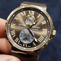 Ulysse Nardin ikinci el Marine Chronometer Manufacture