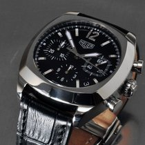 TAG Heuer Monza Steel 38mm Black No numerals United States of America, Washington, Woodinville