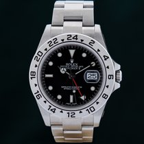 Rolex Explorer II Steel 40mm Black No numerals