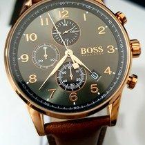 Hugo Boss Steel Quartz HB1513496 new