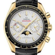 Omega 304.63.44.52.02.001 Yellow gold 2020 Speedmaster Professional Moonwatch Moonphase new