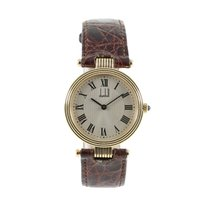 Alfred Dunhill Yellow gold 30.5mm Quartz pre-owned