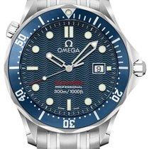 Omega 22218000 Aço Seamaster Diver 300 M 41mm novo