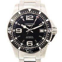 Longines HydroConquest Zeljezo 39mm Crn