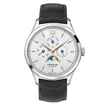 Montblanc Steel 40mm Automatic 112534 new
