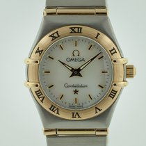 Omega Constellation Ladies Gold/Steel 22.5mm Mother of pearl No numerals United States of America, California, Pleasant Hill