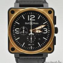 Bell & Ross BR 01-94 Chronographe Rose gold 46mm Black Arabic numerals United States of America, Texas, Houston