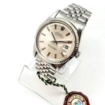 Rolex Acier Remontage automatique Argent Sans chiffres 36mm occasion Datejust