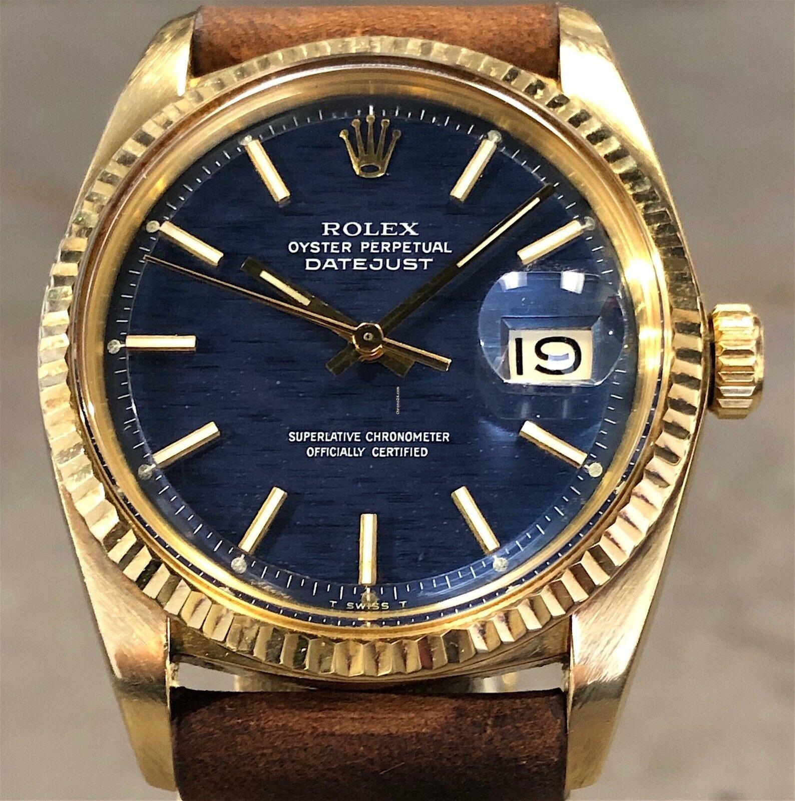 Rolex Vintage Datejust 36mm 1601