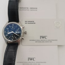 IWC Pilot Chronograph Otel Negru Arabic România, Timisoara