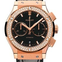 Hublot Classic Fusion Chronograph Rose gold 45mm Black