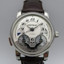 Montblanc Steel 43mm Automatic 104273 new