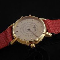 Pierre Balmain pre-owned Quartz 23mm Gold Sapphire crystal