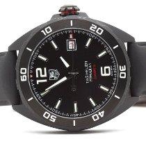 TAG Heuer Titanium Automatic Black 41mm new Formula 1 Calibre 5