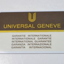 Universal Genève Compax 1980 new