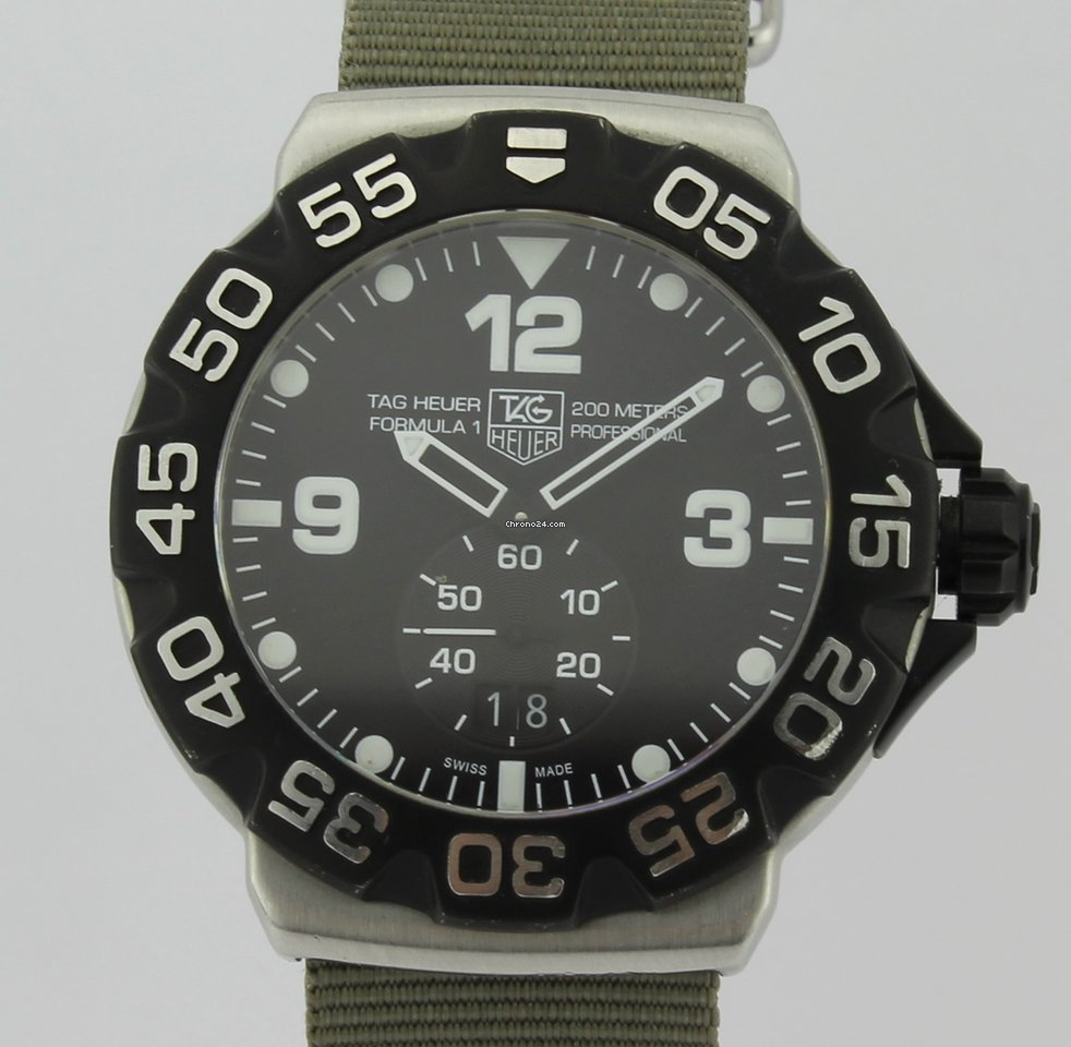 nuevo producto 96f1d fd549 TAG Heuer Formula 1 200 meters Profesional Chronometer WAH1010