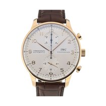 IWC Portuguese Chronograph Gold/Steel 40.9mm Silver