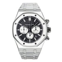 Audemars Piguet Royal Oak Chronograph Сталь 41mm Чёрный