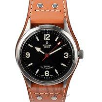 튜더 (Tudor) Heritage Ranger Black/Leather 41mm - 79910