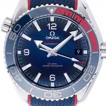 Omega Seamaster Planet Ocean Pyeongchang 20018 Stahl Automatik...