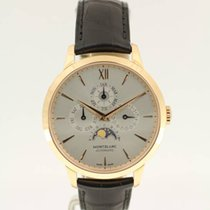 Montblanc Rose gold Automatic Silver Roman numerals 39mm new Heritage Spirit