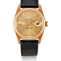 Rolex | A Pink Gold Automatic center Seconds Wristwatch With Date