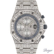 오드마피게 Royal Oak Offshore Titanium Full-Iced DIAMONDS