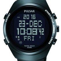 Pulsar Otel 46mm Cuart PQ2057X1 nou